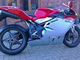 Motorcycle mv f4 750