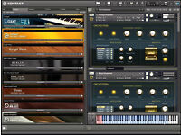 KONTAKT INSTRUMENTS PC/MAC...