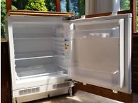 Integrated Flavel fridge with complimentary integrated Neff freezer