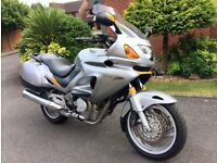 Honda NT650V Deauville, silver, excellent condition with only 26,477 miles