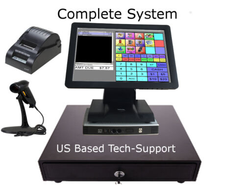 Point of sale POS System Register  Retail, Grocery, Gift, Smoke NO MONTHLY FEES