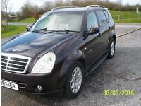 2007 Ssangyong Rexton II 4x4. Mercedes powered.Very capable towing car.