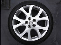 "MAZDA 6 2nd Gen GH 18"" Alloy Wheel & Tyre 225 45 R18 - 4 available"