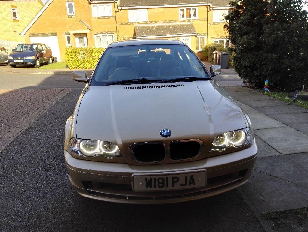 BMW E46 318CI Coupe2000GoldPetrolAutomaticDVDNAVIRingi