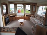 Static 8 berth caravan
