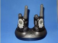 Motorola Walkabout T5522 Walkie-Talkie Radios (set of 2). Excellent condition.