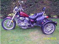 Yamaha Virago 1100 Trike 1998 Years Mot..