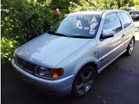 1999 SILVER VW POLO - FULL SERVICE HISTORY, LOW MILEAGE, ALLOYS, SUNROOF, 3 DOOR HATCHBACK, 5 SEATS
