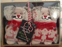 Rabbit Hand Warmers NEW/Boxed