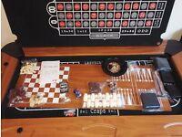 Casino Gaming table, Roulette, Poker, Blackjack, Craps,