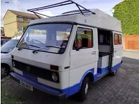 1979 Vw campervan LT 1984cc caravavan