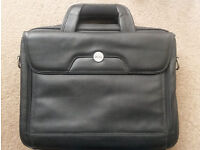 Genuine Dell Leather Laptop Case - pristine REAL LEATHER