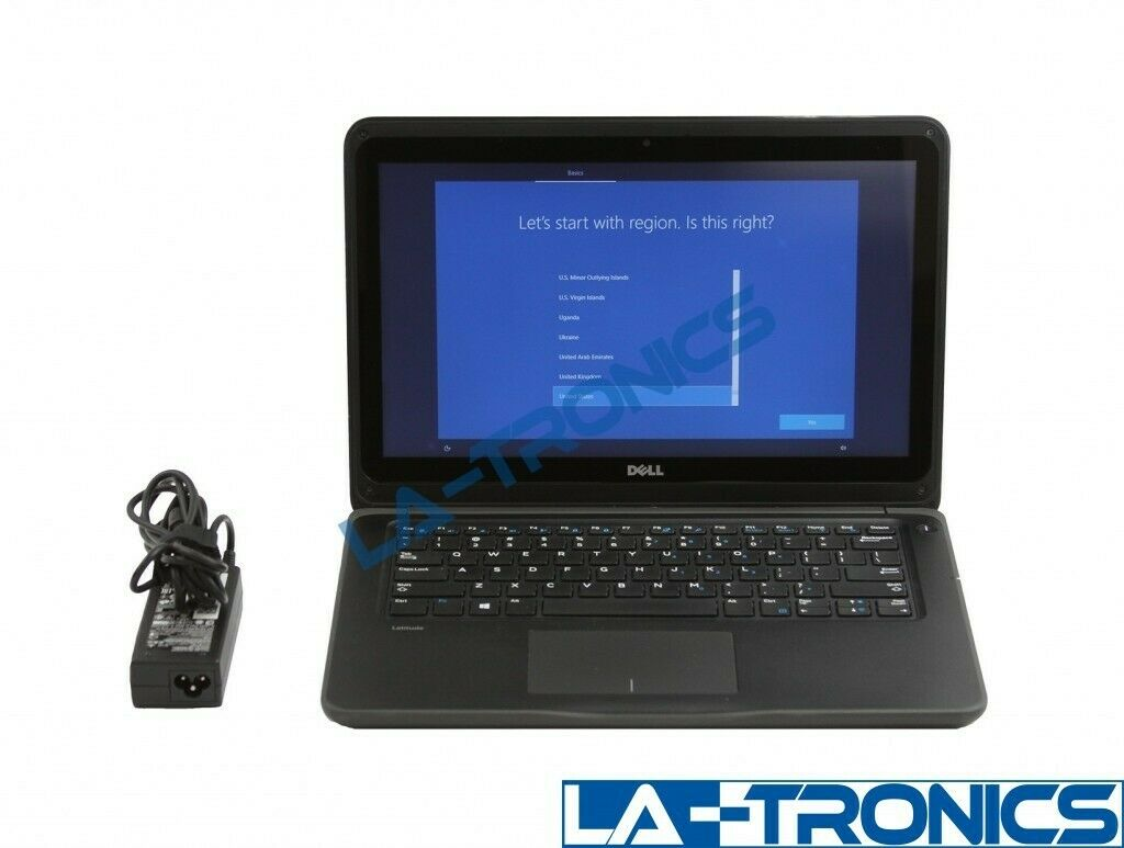 "Dell Latitude 3380 13.3"" i3 1.60GHz 8GB RAM 128GB SSD Touch Screen Laptop *READ*"