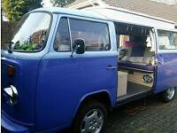 Campervan holiday hire Dorset and Hampshire