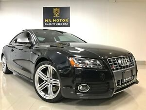 2010 Audi S5 4.2L,BLIND SPOT,SUNROOF,CERTIFIED,ONTARIO CAR