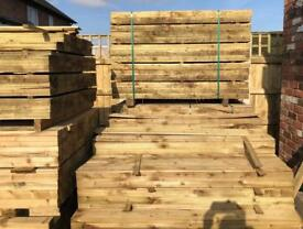 🃏New Tanalised Feather Edge Fence • Panels • Timber Fence Pieces