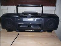 JVC Retro 90's Boombos CD Portable System RC-X510 For Sale
