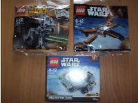 Lego Star Wars x3
