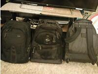 2 Brand New Targus Brand Rolling Wheeled Backpacks (15.4 inches PC bag)