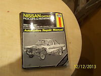 Shop Manual, Nissan pick-ups & Pathfinder