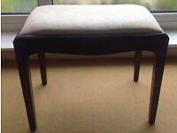 STAG MINSTREL Mahogany Stool - Dressing Table, Piano Stool?
