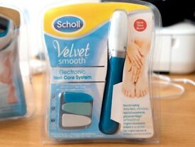 Scholl Electronic Nail Set bargain priced to go both sets £10!