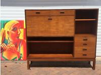High Sideboard / GPlan Type / Computer Desk / Locable.