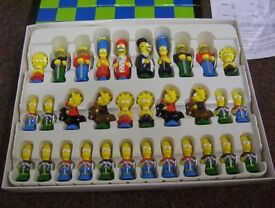 Simpsons 3D chess - collectors rare