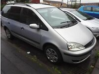 2003 (03) Ford Galaxy 7 seater - no MOT - needs work