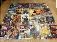 Dc comic collection attic clear out.