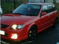 L@@k very fast mazda 323F 2litre sports