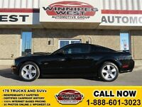2006 Ford Mustang Black GT, Leather, AFE Cold Air Intake/Shaker