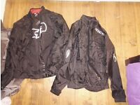Oxford Bikers jacket :MEDIUM and Richa Waterproof : SMALL