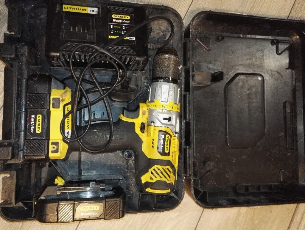 Stanley fat max 18v cordless drill