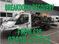 Breakdown Recovery Chelmsford Essex
