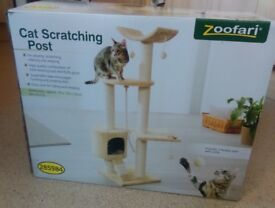 Brand New Multi-story Scratching Post for Your Cat. Never Been Opened!