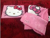Hello Kitty Single Bedding