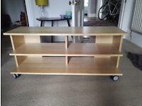 TV table - Ikea, light oak. Excellent condition