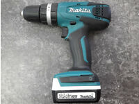 Makita HP347DWE Hammer Drill Driver with Two Batteries