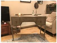 ANNIE SLOAN PAINTED SHABBY CHIC VINTAGE 1930'S DRESSING TABLE/DESK