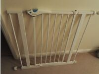 Lindam Easy Fit Plus Deluxe Tall Baby Gate x2