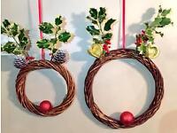 Reindeer wreath!