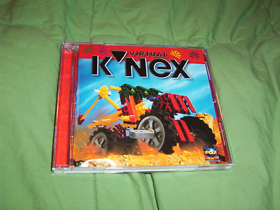 Virtual Knex Pc Cd Rom Game Book Case 1998