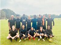 Newly formed football team looking for players, play football, find football team. aq