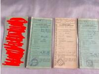 Tractor log books - fordson, Massey Ferguson, ford, Nuffield, David brown