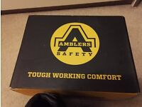 Safety work boots - for security work size 8 ( EUR 42)
