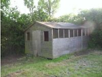 Wooden Sectional Shed For Sale