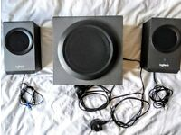 Logitech Z337 PC / multimedia speakers with subwoofer