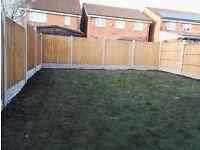 Supply & Fit 10 bays fencing for £695 (old wooden fence taken away free) NO DEPOSIT TAKEN