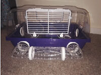 Small plastic dwarf hamster cage - FREE